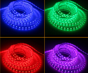 LED RGB テープライト