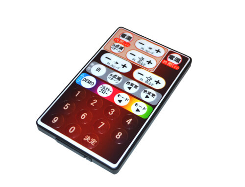 デジタルRGBパネルのリモコンです。