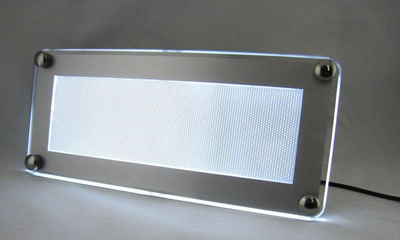LEDパネル バックライト 横置き